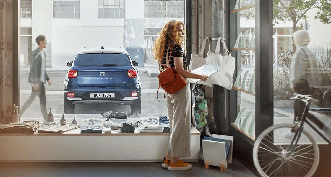 Бюджетний кросовер Hyundai Venue в кредит з авансом від 10% в Едем-Авто - фото 24